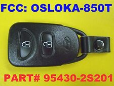 2010 - 2015 OEM Factory Hyundai Tucson Keyless Remote Fob OSLOKA-850T 3 Buttons