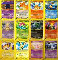 Pokemon cards. Expedition Base set. Charizard, Blastoise, Venusaur, Alakazam etc
