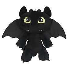 "12"" How To Train Your Dragon Figure Toothless Fury Kids Plush Soft Stuffed Doll"