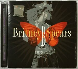 BRITNEY SPEARS B In The Mix THE REMIXES 2005 MALAYSIA EDITION CD RARE NEW SEALED