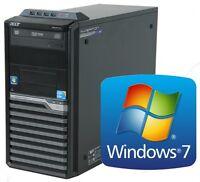 Acer Veriton M490G Intel Core i3-550 2x 3.2 GHz 4GB DDR3 320GB DVD+RW Win7 Pro