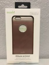 BRAND NEW For iPhone 6/6s Moshi iGlaze Armour Premium Metallic Case Rose Gold