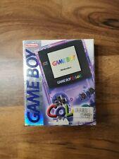 Nintendo Game Boy Color Violett transparent ovp gameboy