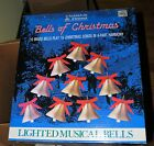 Mr Christmas Bells Of Christmas Musical Lighted Brass 15 Songs Tested & Working