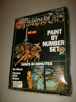 RARE VINTAGE THUNDERCATS PAINT BY NUMBER UNOPENED SEALED BOX PAINT SET 1980s