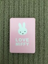 Small, new, pink Miffy leather mirror