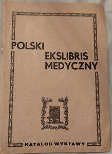 POLSKI EKSLIBRIS MEDYCZNY katalog wystawy   Paperback 1980   antykwariat