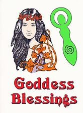 Forest spirit/ Green Lady/Goddess Pagan/Wiccan  unmounted set of 4 stamps