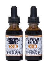 Survival Shield X-2 Nascent Iodine (2 Bottles) Highest Quality  - 1796% of RDA