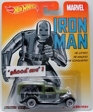 Hotwheels '34 Dodge Delivery  Marvel   Iron Man  Real Riders