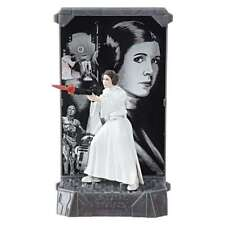 Star Wars Black Series NEW * Princess Leia * #4 Titanium Die-Cast 3.75 Inch