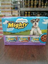 Purina Mighty Dog Gravy Wet Dog Food Variety Pack EXPIRED 12/2019