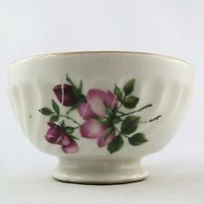 "PETIT BOL Ancien Porcelaine Dinette ""Fleurs Roses"" Vintage/toy bowl/limoges..."