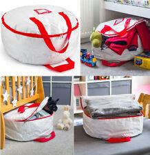 Niño Niños Juego Bolsa de almacenamiento Organizador Tidy Room espacio Bin Caja Redondo 61x61x7.8cm