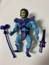 1981 Vintage He-Man MOTU Skeletor soft head, has both weapons