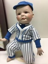 Ashton Drake PAUL Boy DOLL Porcelain Yolanda Bell Precious Moments Baseball Baby
