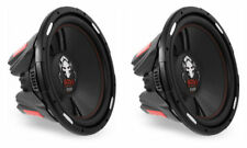 2 Boss P156DVC Subwoofers 3000W Package