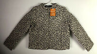 NEW Gymboree Girls 5 6 Leopard Cheetah Lightweight Jacket Coat Water Resistant