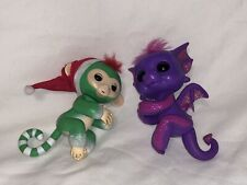 Fingerling Happy Dragon &!Monkey Electronic Interactive Finger Pet Christmas