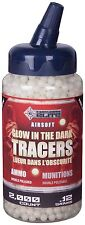 Crosman Elite Glow in the Dark Tracer Airsoft BBs .12g 2000 count
