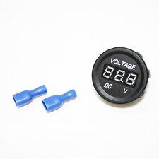 Motos Barco voltímetro DC Voltaje medidor Led Digital 12-24vV IMPERMEABLE