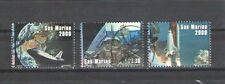 P7200 - S, MARINO 1998  - SERIE COMPLETE USATE - LA BANDIERA NELLO SPAZIO