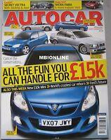 Autocar magazine 18/4/2007 featuring LCC Rocket, Skoda Fabia road test