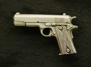 Empire Pewter 1911 Pistol Pewter Gun Pin