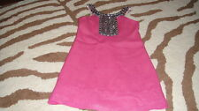 BOUTIQUE LE PINK 6 PINK BEADED DRESS