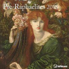 CALENDRIER 2018 - PRE-RAPHAELITES - 30 x 30 cm