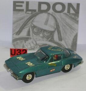 FN eldon R3102 Corvette Sting Ray Blue Metallic Exc. Condition Unboxed