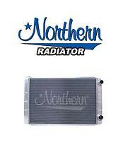 Aluminum Radiator GM Chevy 19 x 28 Double Pass 2-Row Racing Northern LS Swap