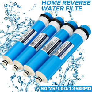 50-125 GPD 1 Micron Reverse Osmosis RO Membrane Replacement Water Filter  /*/