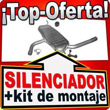 Silenciador trasero Seat Altea XL Toledo 1.6 2004-2013 Escape ALY