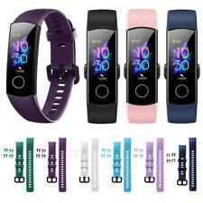 Buntes Silikon-Uhrenarmband-Ersatz-Armband-Bügel für Huawei Honor Band 5 4