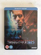 Terminator 2 Judgment Day - 3D Steelbook - Zavvi Exclusive - Brand New