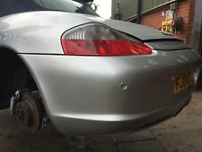 PORSCHE BOXSTER REAR BUMPER   FACELIFT BUMPER WITH PARK ASSIST FJ04 DYY