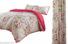Floral Curtains Quilt Covers