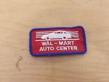 walk-mart auto center VINTAGE   patch, new old stock, 1970's