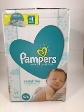 Pampers Sensitive Baby Wipes - Count of 448
