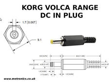 1.7mm Dc Power Plug for Korg Volca Series Synths