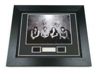 KINGS OF LEON MEMORABILIA Signed PREPRINT + KINGS OF LEON FILM CELLS Display