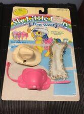 VTG 1984  My Little Pony Best of the West Pony Wear Saddle, Hat & Blanket