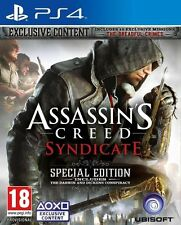 Assassins Creed Syndicate (Special Edition) PS4 - MINT FAST & FREE DELIVERY