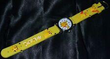Yellow Pikachu Pokemon Go Wristwatch Wrist Watches Watch Kids Team Instinct