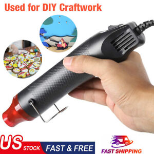 Mini Heat Gun DIY Electric Nozzles Tool Hot Air Gun Embossing Drying Paint USA