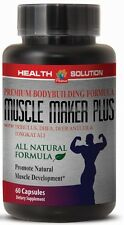 MUSCLE MAKER PLUS Promotes Natural Muscle Development L-Arginine sex drive 1Bot