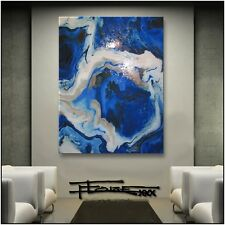 Abstract Painting Modern Canvas Wall Art Extra Large Resin Framed US ELOISExxx
