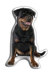 "Rottweiler Dog Gift – Beautiful Large 'Cuddle Cushion' approx18""x 16"""