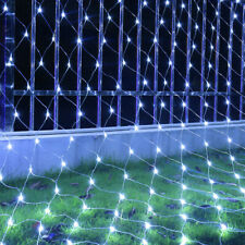 LED String Fairy Lights Net Mesh Curtain Christmas Wedding Party In/Outdoor Lamp